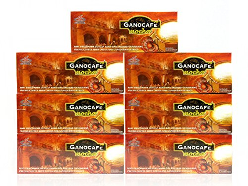 7 Boxes Gano Excel Mocha Coffee Ganoderma Lucidum Extract by Gano Excel