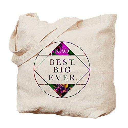 CafePress Best Kappa Bag Shopping Big Theta Alpha Cloth Natural Tote Canvas Bag rFrwgHWqf