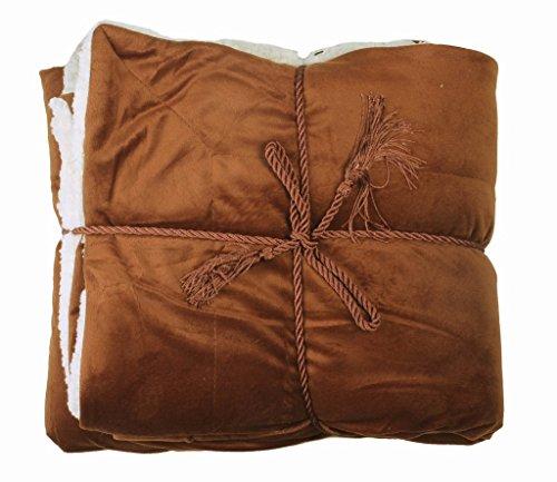 EPYA-Luxury-Soft-Reversible-Faux-Fur-Lambswool-Cashmere-Blankets-Throw-50-x-60