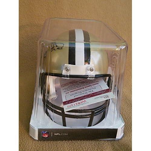 60ad013fa98 Alvin Kamara Signed New Orleans Saints Mini Helmet - JSA Authentic ...