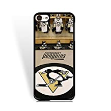 Clear Ipod Touch 6th Generation Case, TPU Bumper Ipod Touch 6th Generation Cover, Delicate Famous Pittsburgh Penguins Collection Case for Fans Fans