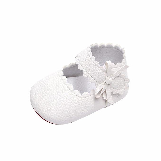 134593a4f SamMoSon Zapatillas Patucos para niños niñas Botas de Niño Invierno Zapatos  De Bebé Niña Niño Recién Nacido Cuna Zapatillas De Suela Suave Rd   2  ...