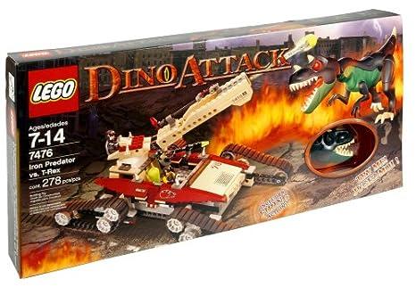 Amazoncom Lego Dino Attack Iron Predator Vs T Rex Toys Games