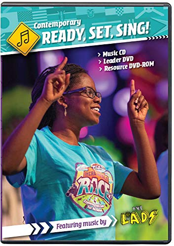 Ready, Set, Sing! Music Leader Set - Contemporary - The Incredible Race VBS by ()