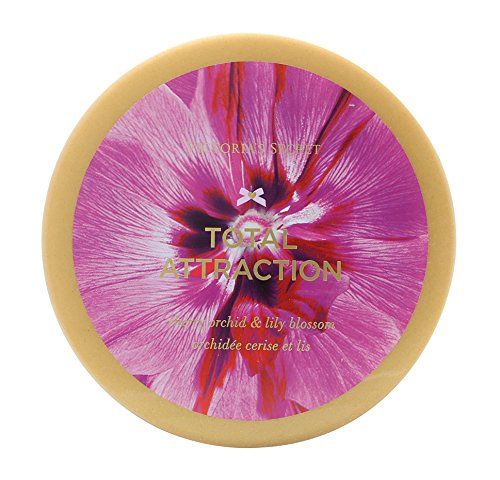 Victoria's Secret Total Attraction (Cherry Orchid and Lily Blossom) Deep Softening Body Butter 6.5 (Orchid Body Cream)