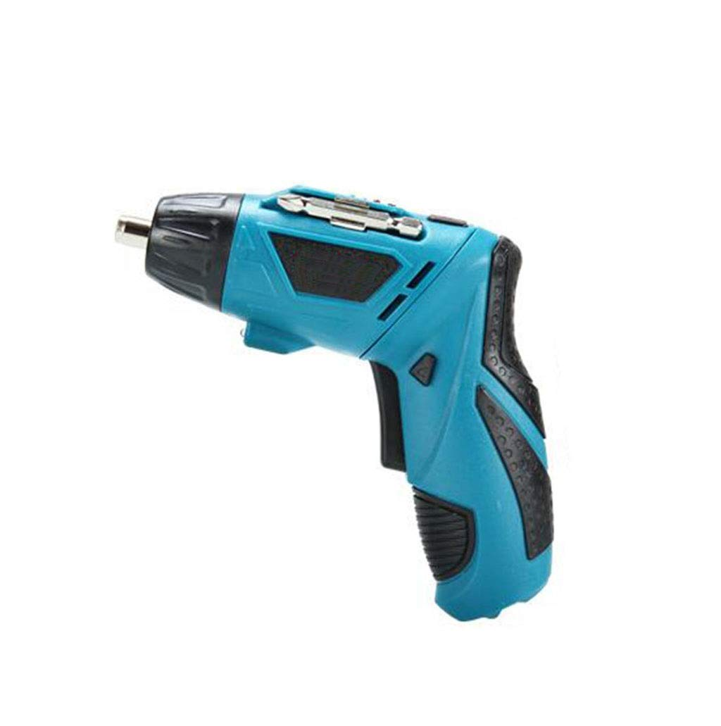 GHGJU Electric Drill Multi-Function Electric Drill Household Micro Electric Drill Rechargeable Hand Drill Electric Screwdriver Hardware Tool Set Suitable for Family or Tools by GHGJU