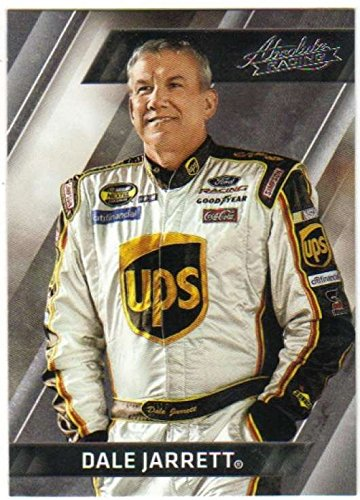 2017 Panini Absolute Racing #1 Dale Jarrett UPS/Yates Racing/Ford Official NASCAR Trading Card