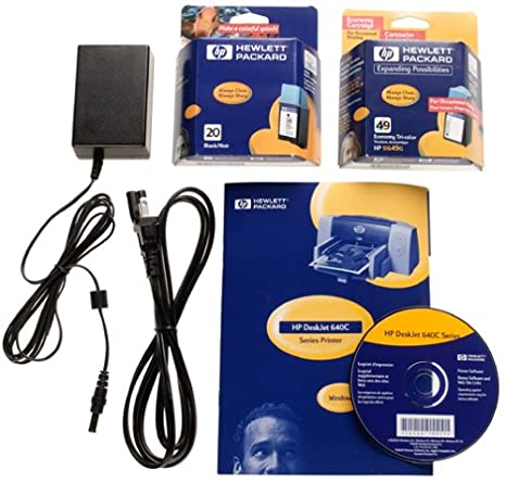 Amazon.com: Hewlett Packard DeskJet 640 C Impresora de ...