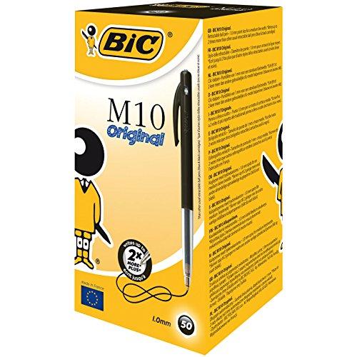 BIC CLIC MEDIUM BLACK 901256 by BIC (Image #6)