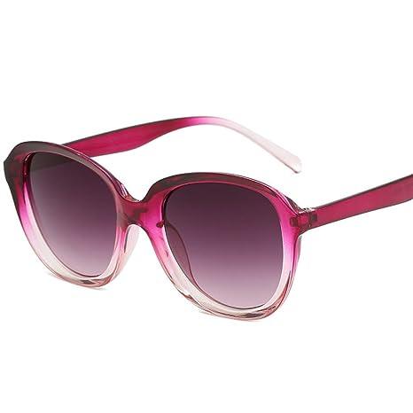 Yangjing-hl Gafas de Sol de Montura Ovalada de Moda Gafas de ...