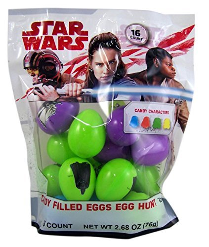 Disney Star Wars Candy Filled Eggs, 16 count ()
