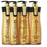 Keratin Cure 0% Formaldehyde Bio-Brazilian 32.5 oz 4 Piece Kit Gold & Honey 960 ML Review