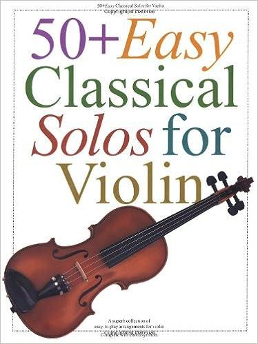 Amazon com: 50+ Easy Classical Solos for Violin (9780711951914): Hal