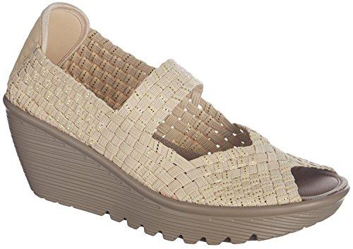 Skechers Cali Women's Parallel Platform Sandal 38409 Natu...