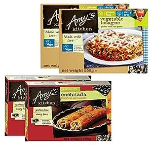 PROMO Amys Kitchen PACK DE 4: Enchilada De Frijol Negro ...