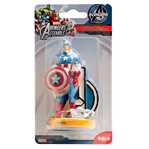 Candelina di Avengers Iron Man Taglia Unica Generique