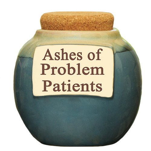 Ashes Of Problem Patients Money Jar