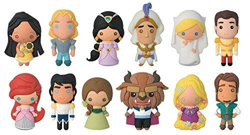 Disney Princess Foam (Disney Series 14-3D Foam Key Ring Blind Bag Collectible Keyring)