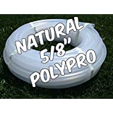 """100 foot coil of 5/8"""" PolyPro hula hoop tubing - Make your own hoops! Comes with Insert Material"""
