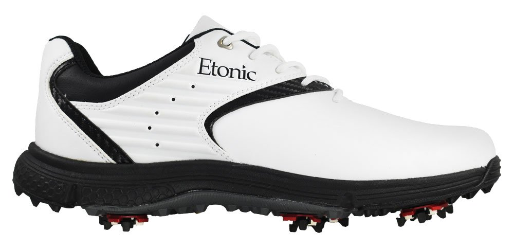 Etonic golf- Stabilite靴 B07B6TQ6GV 8.5 Medium ホワイト