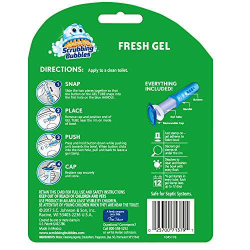 Buy scrubbing bubbles toilet cleaning gel fresh