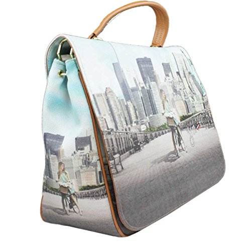 Borsa Y Not tracolla New York big apple - J333