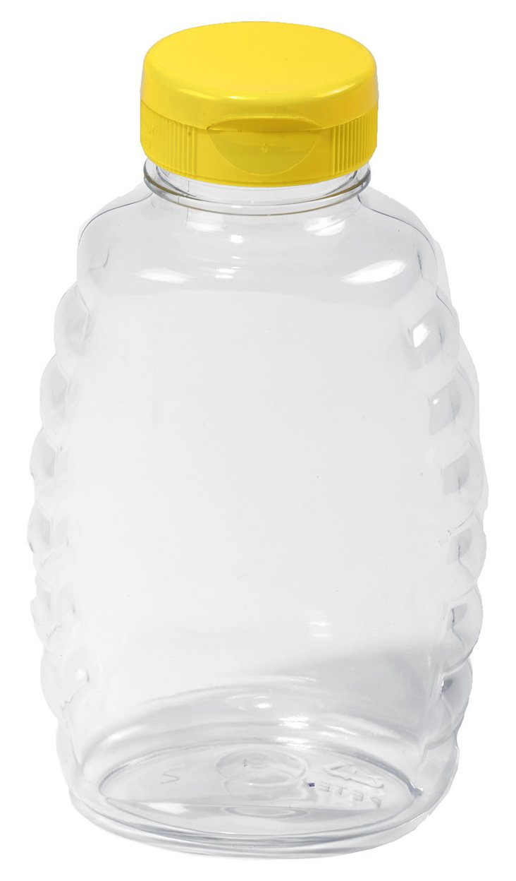 Little Giant Farm & Ag SKEP16 Little Giant Plastic Honey Jar (Case of 12), 16 oz by Little Giant Farm & Ag