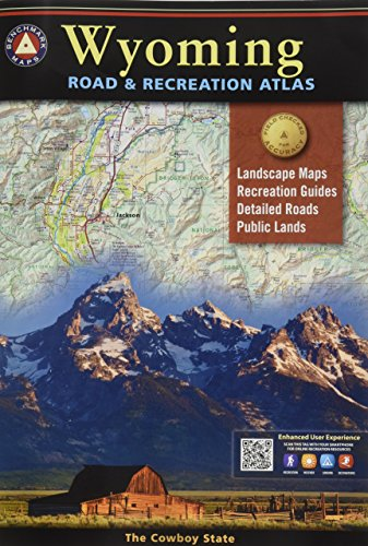 Wyoming Road & Recreation Atlas: 3rd Edition