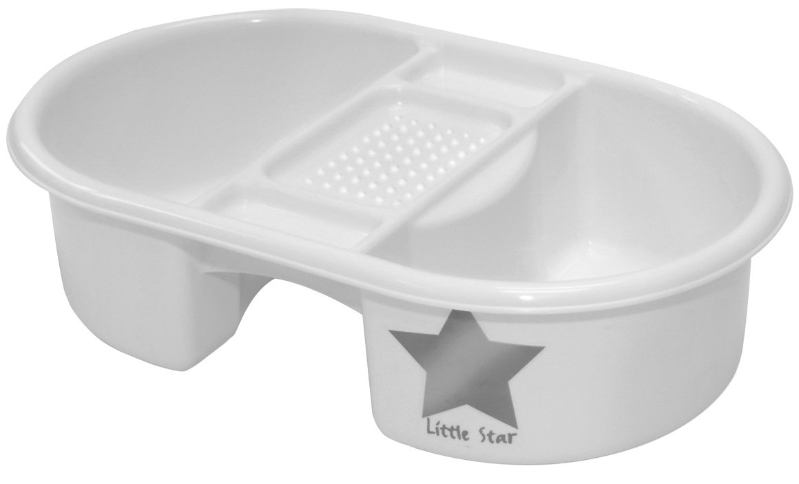 Strata Top And Tail Bowl - Silver Lining BabyCentre 49600700