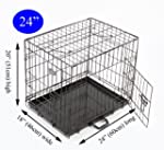 Easipet Puppy Cage for Dog, 60 x 46 x...
