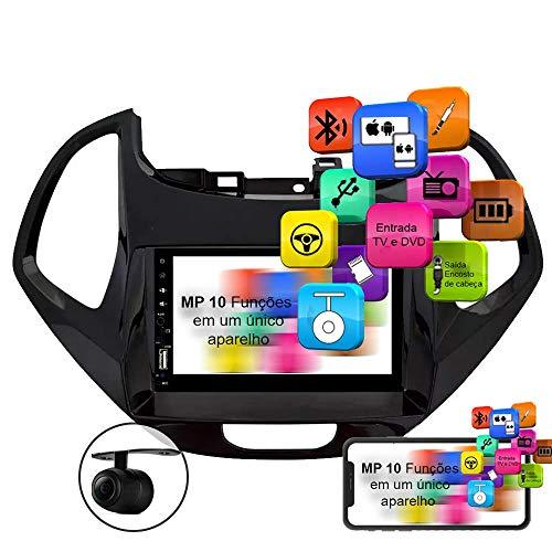 Central Multimidia Ka 18 a 20 MP10.1 Voolt C/Moldura USB, SD Espelhamento Android e IOS