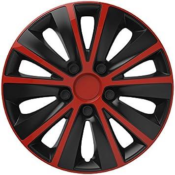 Universal Radzierblende Radkappe Schwarz 16 Zoll Für Viele Fahrzeuge Passend Auto