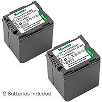 Kastar VW-VBG260 Battery (2-Pack) for Panasonic AG-AC7, AG-AF100, AG-HMC40, AG-HMC80, AG-HMC150, HDC-HS250, HDC-HS300, HDC-HS700, HDC-SD600, HDC-SD700, HDC-SDT750, HDC-TM300, HDC-TM700, SDR-H80 Camera