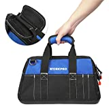 WORKPRO 16-inch Wide Mouth Tool Bag with Water