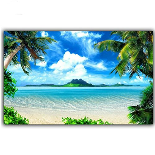24 x 34 cm 5D DIY Diamond Painting Sea Beach Ocean paesaggio punto croce diamante ricamo kit immagine Diamond Mosaic Home Decor wu