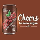 Zevia Zero Calorie Soda, Ginger Root