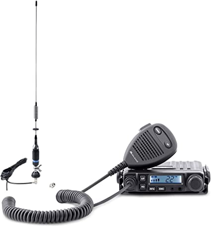 PNI Radio CB Midland Midland M-Mini + Antena S75 con Cable y ...