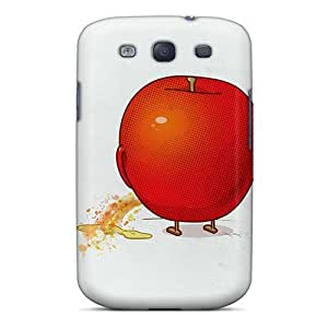Flexible Tpu Back Case Cover For Galaxy S3 - Red Fun
