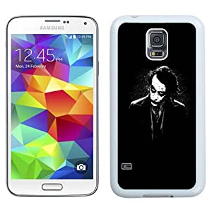 Fashionable Custom Designed Samsung Galaxy S5 I9600 G900a G900v G900p G900t G900w Phone Case With The Joker Batman Black White_White Phone Case
