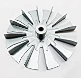 3-21-00661 - HARMAN Fireplace Fan Blade, 4 3/4' Single Paddle - Acc I,P-35I - Universal Combustion Fan Paddle.
