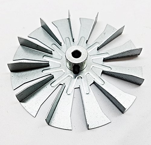 3-21-00661 - HARMAN Fireplace Fan Blade, 4 3/4