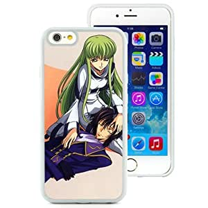 Popular And Unique Designed Cover Case For iPhone 6 4.7 Inch TPU With Code Geass Boy Girl Faint Shadow white Phone Case BY supermalls