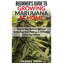 Beginner's Guide to Growing Marijuana at Home: Step-by-Step Guide to Cannabis Horticulture from Planting to Harvesting Indoor and Outdoor