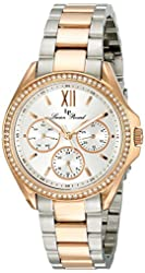 Lucien Piccard Women's LP-10052-SR-22S Eclipse Analog Display Japanese Quartz Two Tone Watch