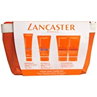 Lancaster Lancaster Sun Care Gift Set 50 ml Zijdeachtige Zonnemelk SPF15 + 30 ml Fluweelachtige Zonnecrème SPF30 + 2 x…
