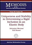 Uniqueness and Stability in Determining a Rigid Inclusion in an Elastic Body, Antonino Morassi and Edi Rosset, 0821843257