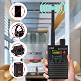 Super Anti-spy Bug GPS Wireless Camera RF Signal Detector Set, ROGSTOM GPS Tracker Locator Radar Radio Wave Scanner CDMA Sweeper GSM Listening Device Finder for Family, Hotel, Travel, Girl and Car