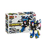 Academy Transforming Toy Robot T-Buster T-Drill, T-Beetle, T-Drone, T-Tank, T-Fighter
