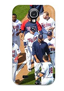 Ideal AndrewTeresaCorbitt Case Cover For Galaxy S4(minnesota Twins ), Protective Stylish Case