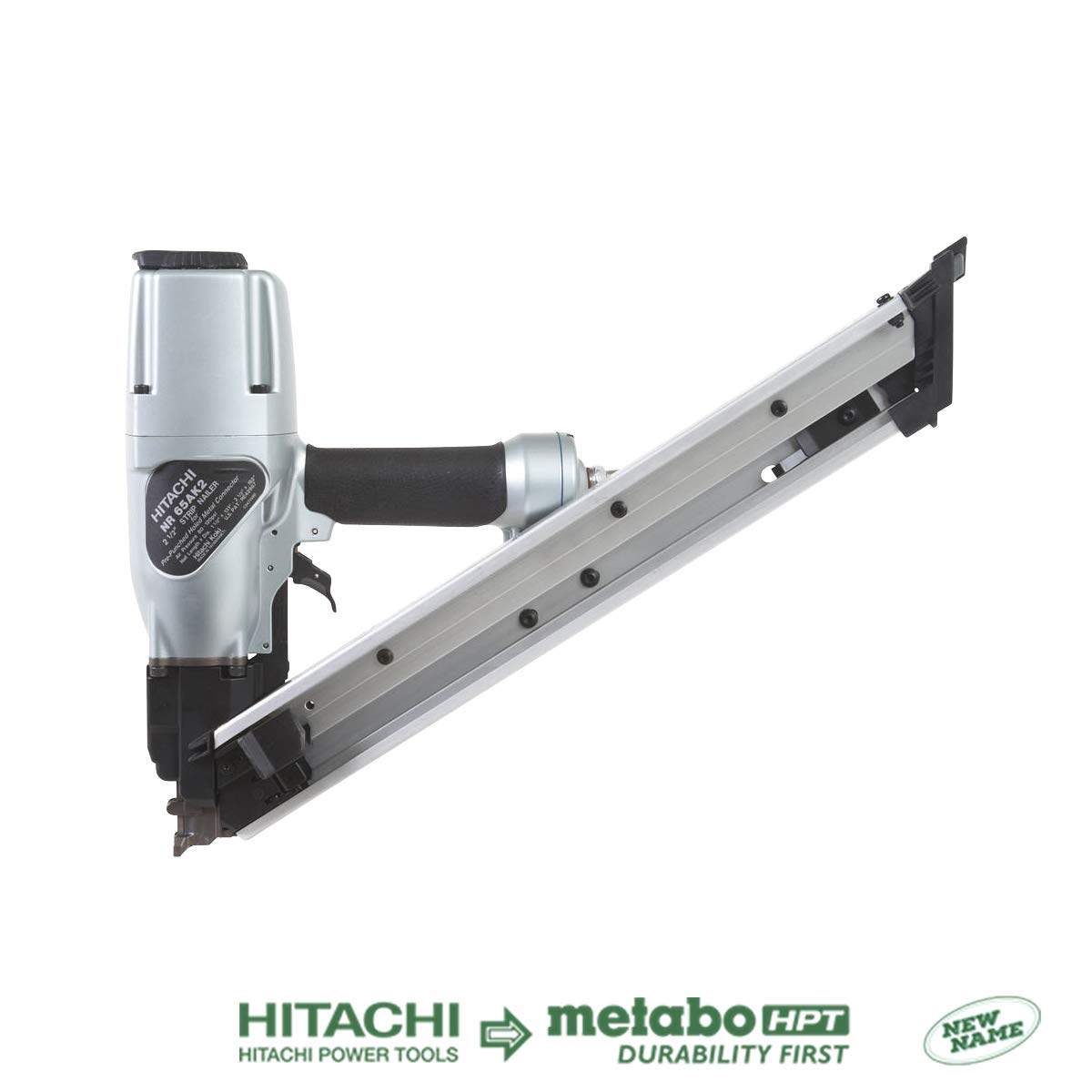Hitachi NR65AK2 Strap-Tite Fastening System Strip Framing Nailer, 1-1 2 To 2-1 2 Discontinued by the Manufacturer